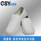 白色条纹中巾鞋